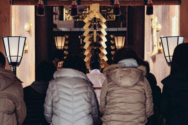 お正月に初詣シーズン